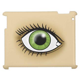 Icono del ojo verde