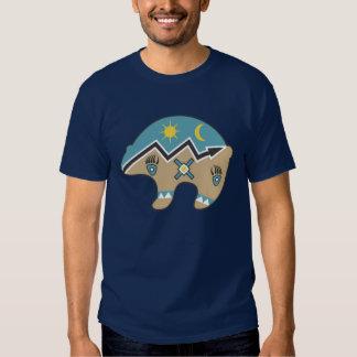 Icono del oso del nativo americano camisas