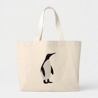 icono del pingüino bolsa de mano