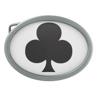 Icono del póker del club hebilla de cinturón