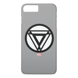 Icono del reactor del arco del hombre del hierro funda iPhone 7 plus