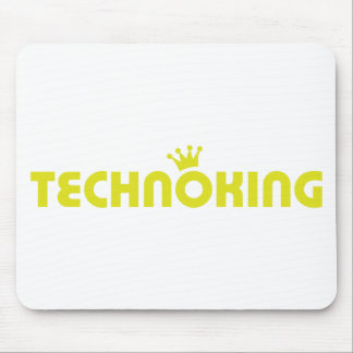 icono del rey del techno mousepad
