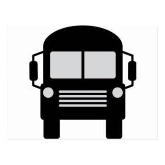 icono del schoolbus postales
