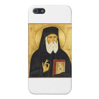 Icono del St. Nektarios iPhone 5 Fundas