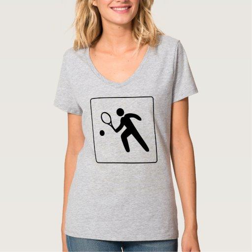 Icono del tenis t shirts