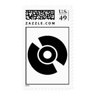 Icono del vinilo del disco sellos