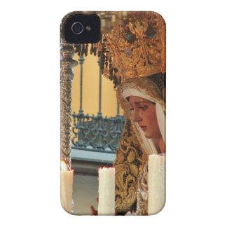 Icono del Virgen María iPhone 4 Cobertura