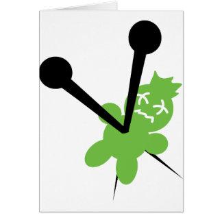 icono del vodoo tarjetas