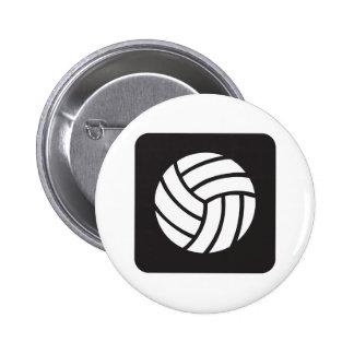 Icono del voleibol pin