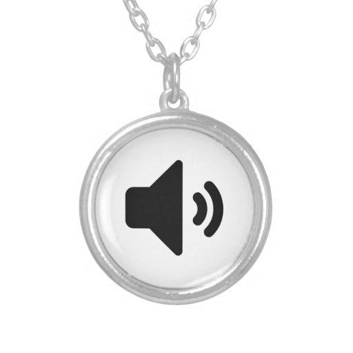 Icono del volumen collares personalizados