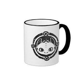 Icono desdentado taza