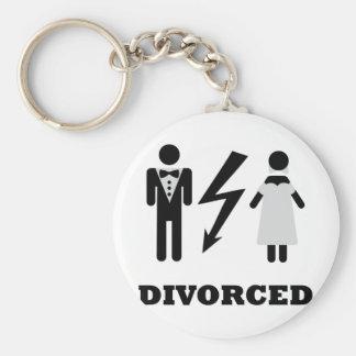 icono divorciado llavero redondo tipo pin