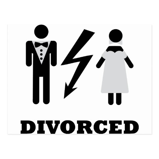 icono divorciado postal