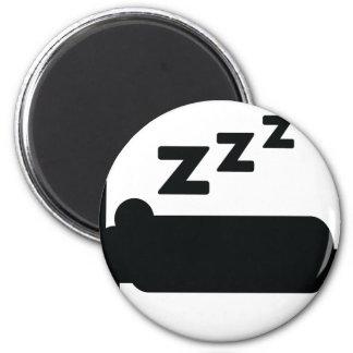 icono el dormir imán redondo 5 cm