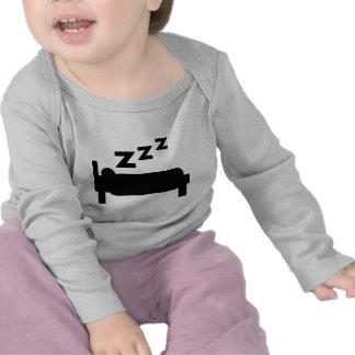 icono el dormir camiseta