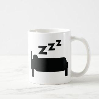 icono el dormir taza clásica