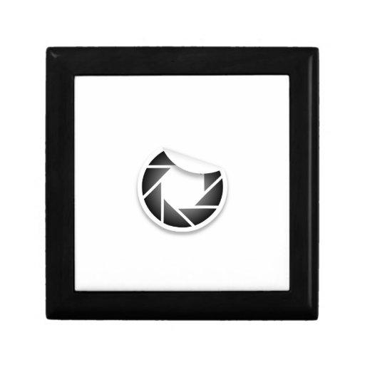Icono fotográfico caja de joyas