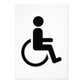 Icono handicaped silla de ruedas