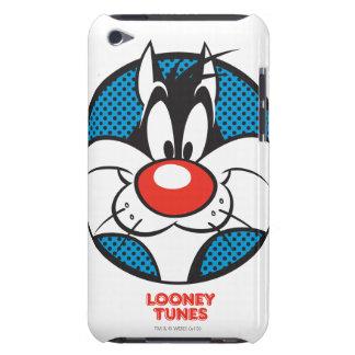 Icono manchado de SYLVESTER™ iPod Touch Case-Mate Cárcasa