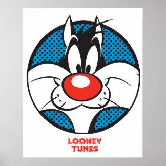 Icono manchado de Sylvester Impresiones