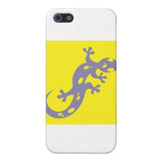 Icono manchado del Salamander iPhone 5 Fundas