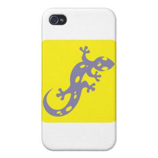 Icono manchado del Salamander iPhone 4 Coberturas