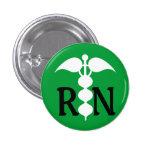 Icono médico del caduceo del RN Stylized Pins