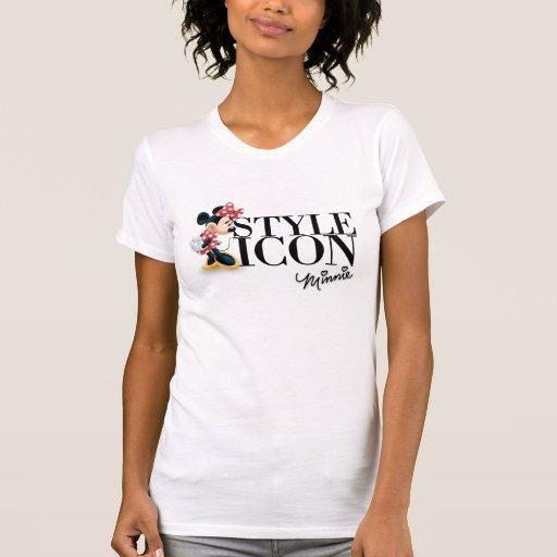 Icono Minnie del estilo Tshirt