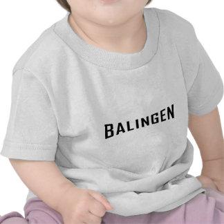 icono negro de Balingen Camisetas