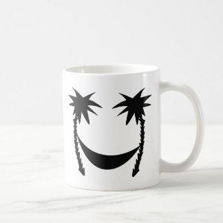 icono negro de la hamaca tazas de café