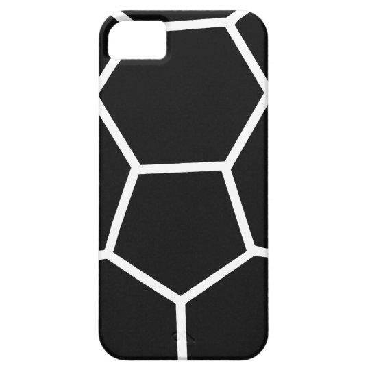 icono negro del balonmano funda para iPhone SE/5/5s