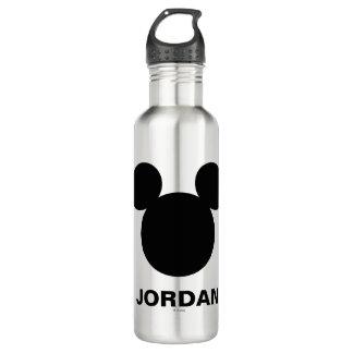 Icono negro del logotipo el   Mickey de Disney