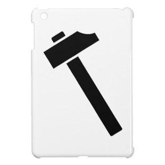 Icono negro del martillo
