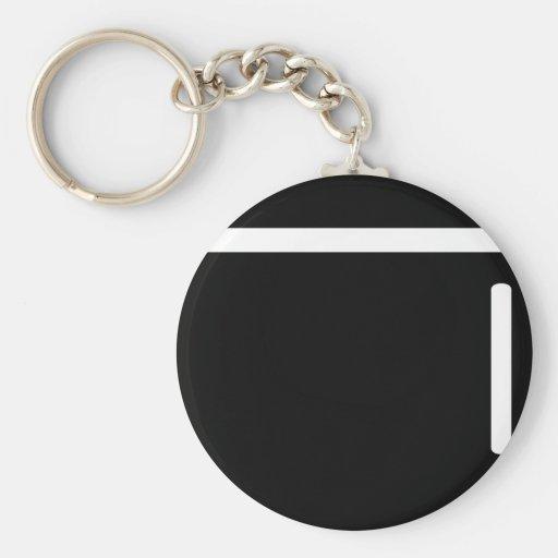 icono negro del refrigerador del refrigerador llaveros personalizados