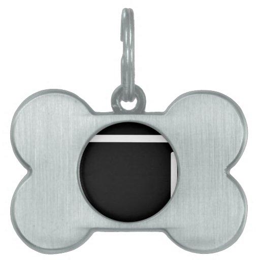 icono negro del refrigerador del refrigerador placa de mascota