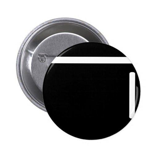 icono negro del refrigerador del refrigerador pins
