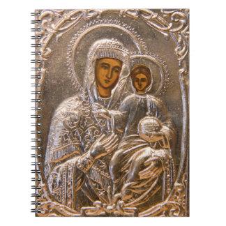 Icono ortodoxo cuadernos