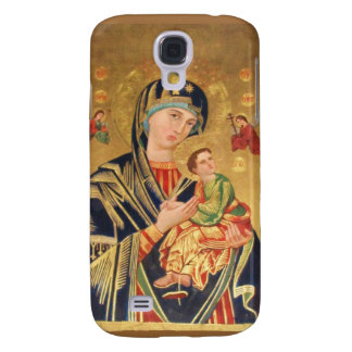 ICONO ortodoxo Madonna sereno Funda Para Galaxy S4