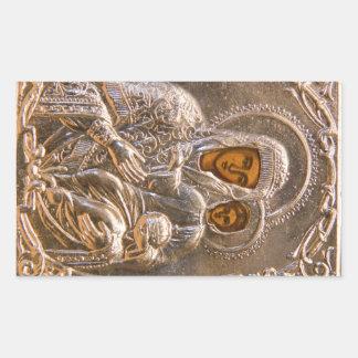 Icono ortodoxo rectangular altavoz