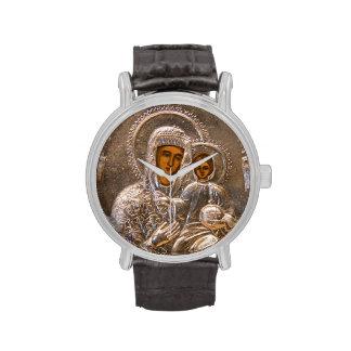 Icono ortodoxo reloj de mano