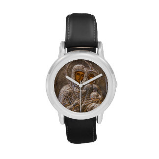 Icono ortodoxo relojes de mano
