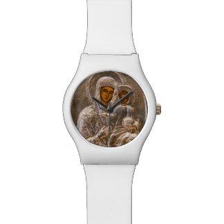 Icono ortodoxo reloj