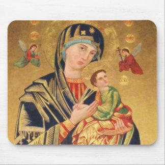Icono ortodoxo ruso - Virgen María y bebé Jesús Mousepad