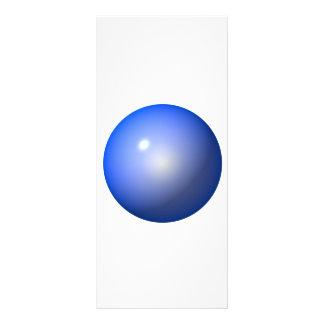 Icono plástico azul del fondo del diseño gráfico d tarjeta publicitaria personalizada