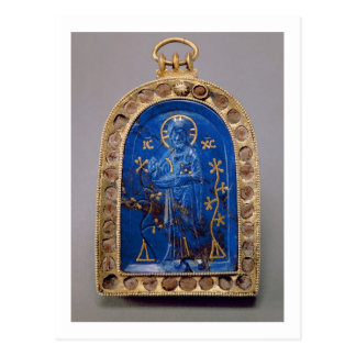 Icono portátil, probablemente medieval (lapislázul postales