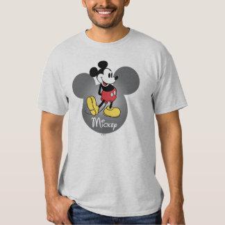 Icono principal clásico de Mickey el | Playera
