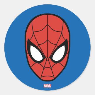 Icono principal de Spider-Man Pegatina Redonda