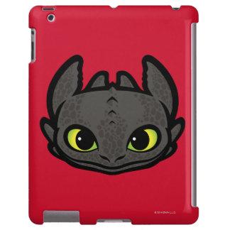 Icono principal desdentado funda para iPad