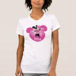 Icono principal rosado de Minnie el | Mickey Playeras