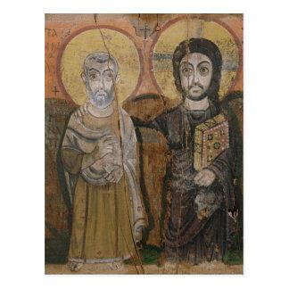 Icono que representa a Abbott Mena con Cristo Postales